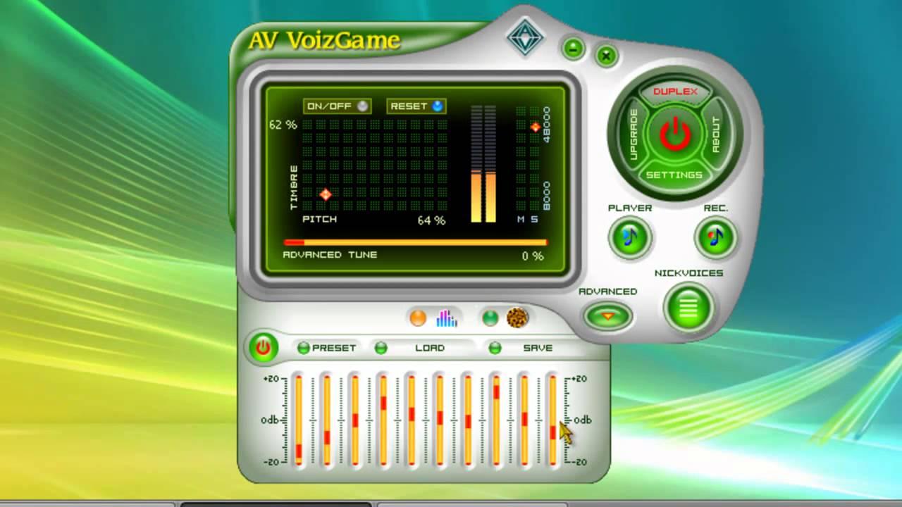 distorsionador de voz en tiempo real