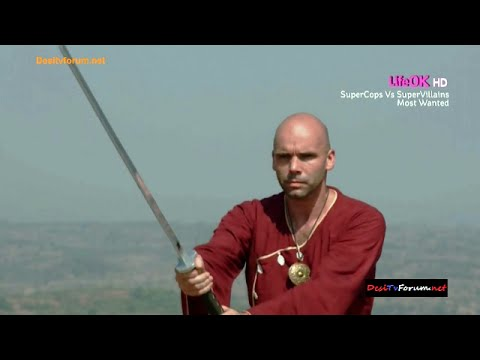 Shapath SuperCops Vs SuperVillains LifeOK TV - Ninja Sword Fight, w/RishinaKandhari & Zachary Coffin