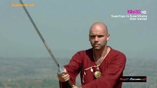 Shapath SuperCops Vs SuperVillains LifeOK TV - Ninja Intro Sword Fight, with Zachary Coffin