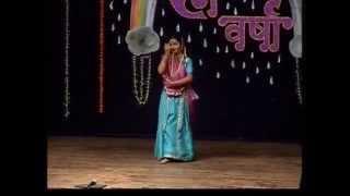 Nrityalankar Mrs Vrushali Shashank Dabke Thumri - Rangvarsha 2009