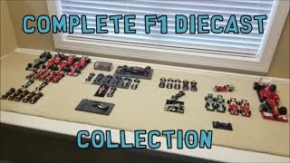 Entire Formula 1 Diecast Collection 2019