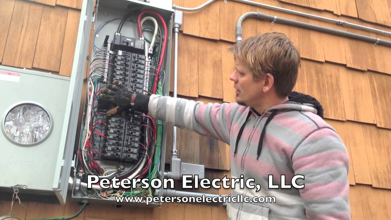 Installing An Electrical Service Change, Replacing FPE Panel ... on replace electrical switch, replace generator panel, moving electrical panel, replace electrical panel breaker,