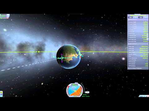 Kerbal Space Program ►E02 •PC• Tutorial [QHD+] Grundlagen der orbitalen Navigation