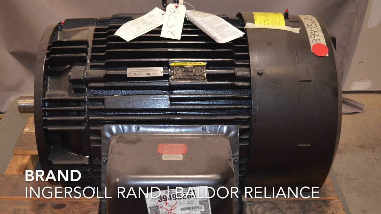 For Sale Ingersoll Rand 39495684 125 HP Air Compressor Electric Motor