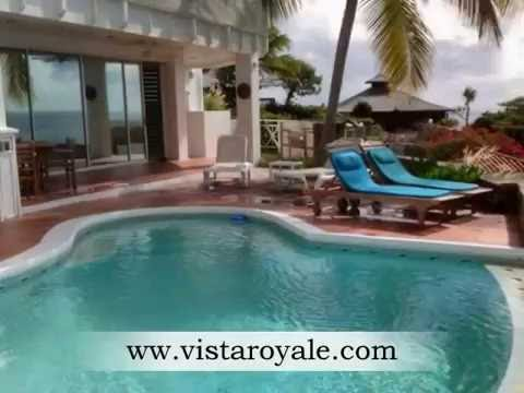 Luxury vacation townhouse on the beautiful island of St. Martin