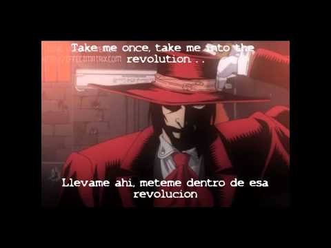 Hellsing-Logos Naki World with lyrics