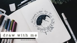 Draw With Me | #BuJo Cover Page