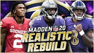 Rebuilding the Baltimore Ravens | CeeDee Lamb and Hollywood Brown are Back! Madden 20 Franchise