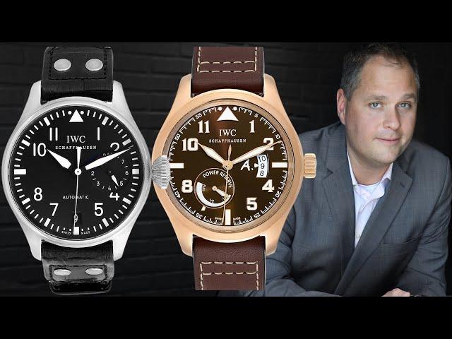 IWC Pilot Watches Review: Big Pilot, Mark XVIII, Saint Exupery | SwissWatchExpo