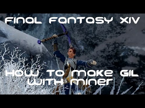 ffxiv how to make gil mining