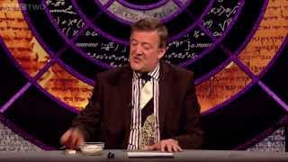 Stephen Fry's exploding custard - QI: Series K Episode 18: Preview - BBC Two