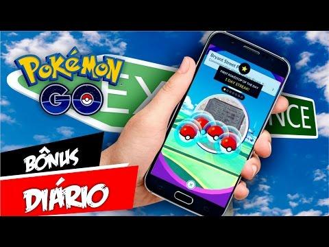 Pokémon GO Daily Bonus Confirmado! Capturas e Pokestops