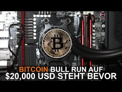 BITCOIN BULL RUN ($20,000 USD) AUFGRUND DES VOLUMENS