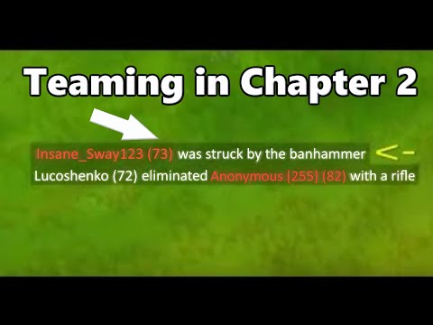 This Happens If You're Teaming In Solo In Chapter 2... - Fortnite