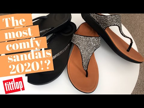 The Most Comfy Sandals Of 2020!? | FitFlop Sandals Unboxing & Review