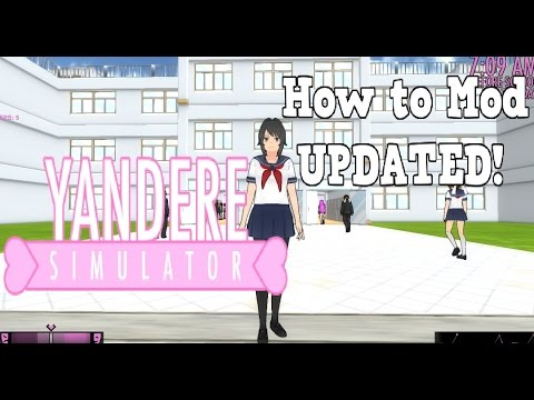 yandere mod to download a simulater to how