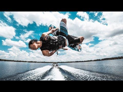 GoPro HERO6 slow motion wakeboarding!