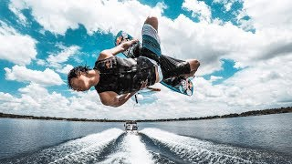 GoPro HERO6 slow motion wakeboarding!