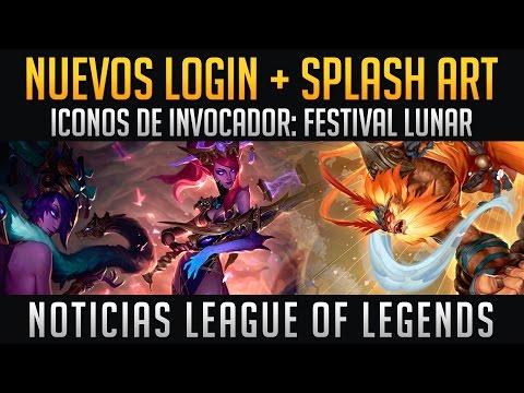Nuevo Login - Splash Art - Iconos de Invocador: Festival Lunar | Noticias LOL