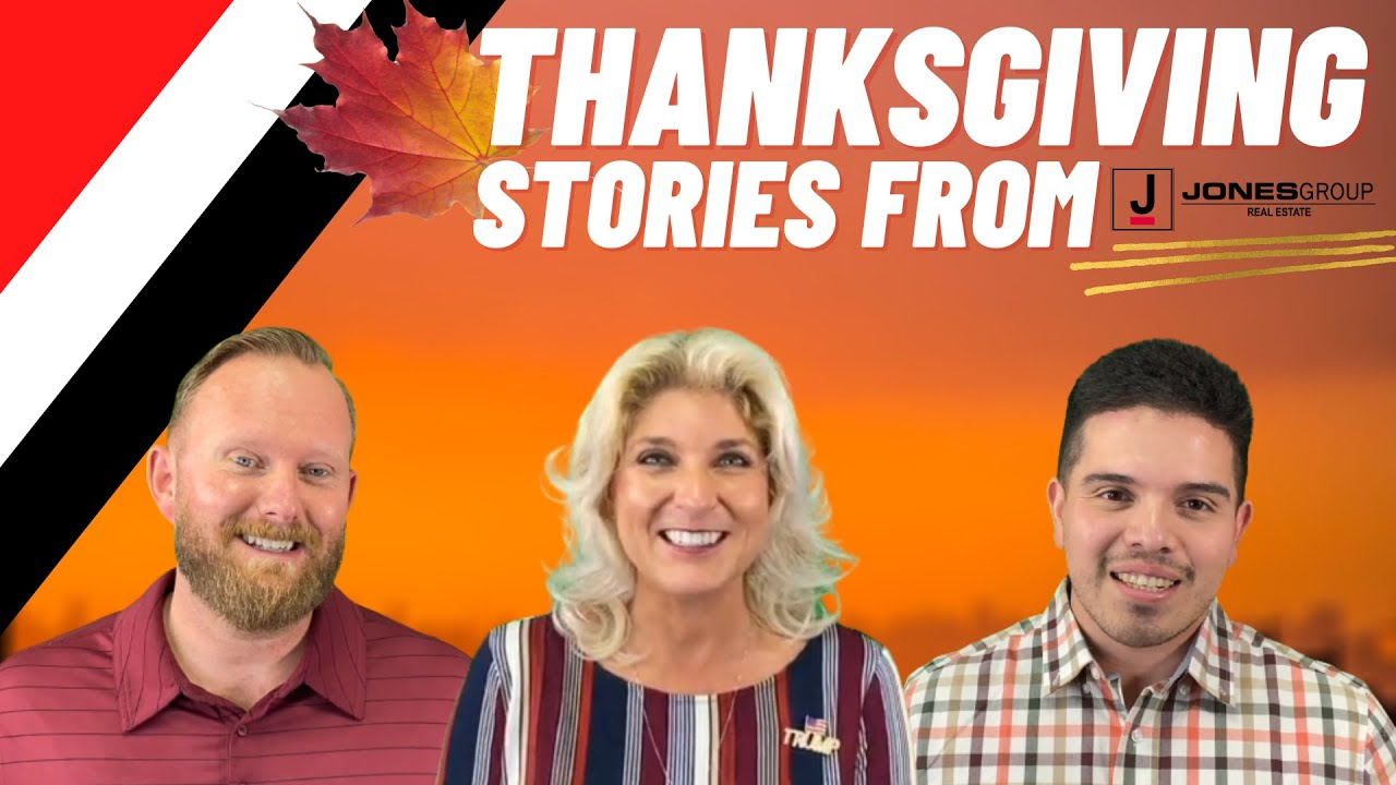 MEMORIES OF THANKSGIVING FROM JGRE TEAM | JONES GROUP REAL ESTATE | HAPPY THANKSGIVING