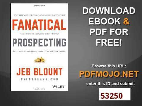 Prospecting pdf fanatical