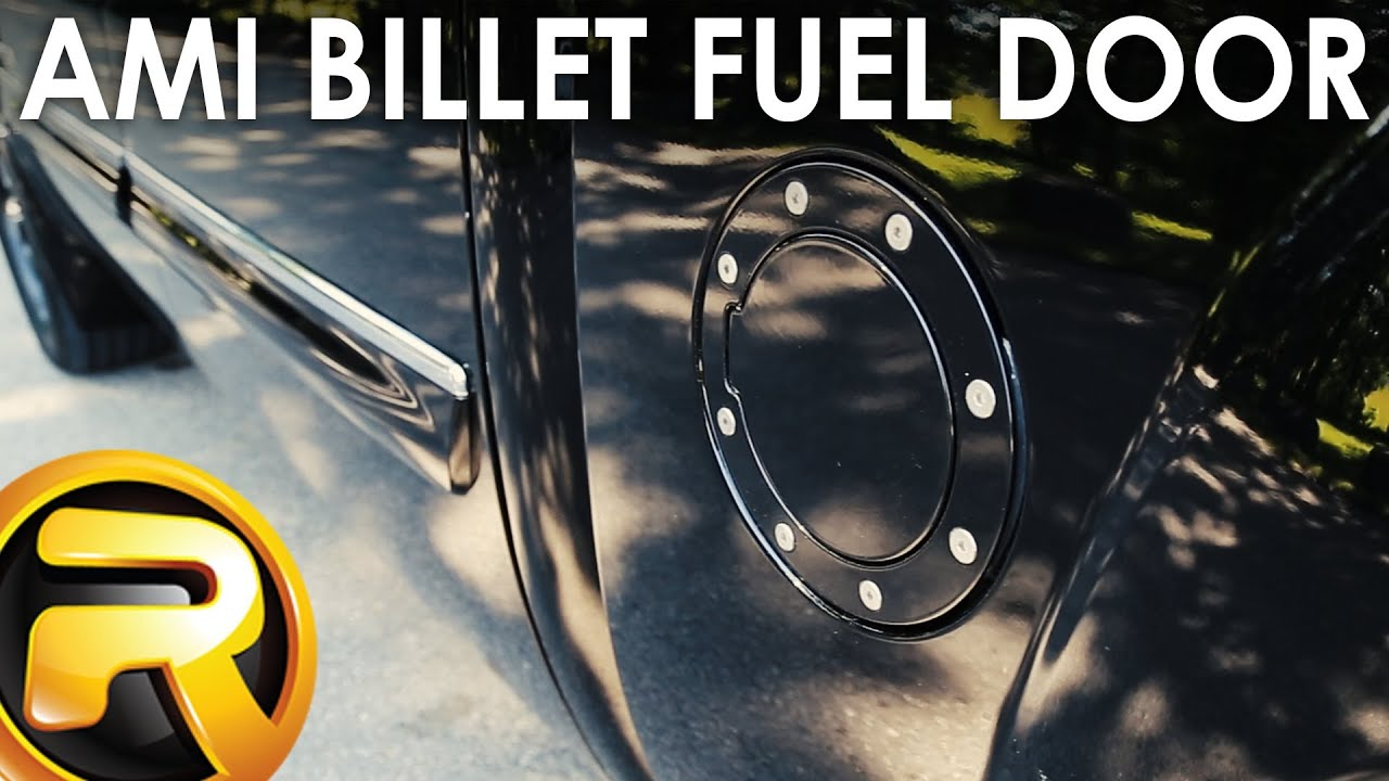 how to install the ami billet fuel door [ 1280 x 720 Pixel ]