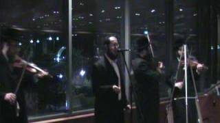 Shragy Gestetner singing Ani Maamin at the Bonei Olam Dinner in the Holocaust Museum, NYC