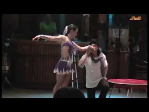 Contortion Acrobatics Hula hoop Rola rola Show Benidorm España 2018