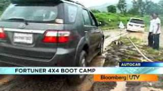 Toyota Fortuner Bootcamp video by Autocar India