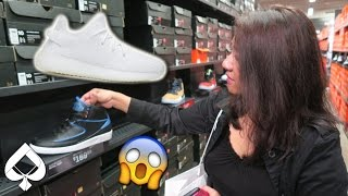 NIKE OUTLET SHOPPING VLOG! + MOM HUNTS FOR YEEZY BOOST!