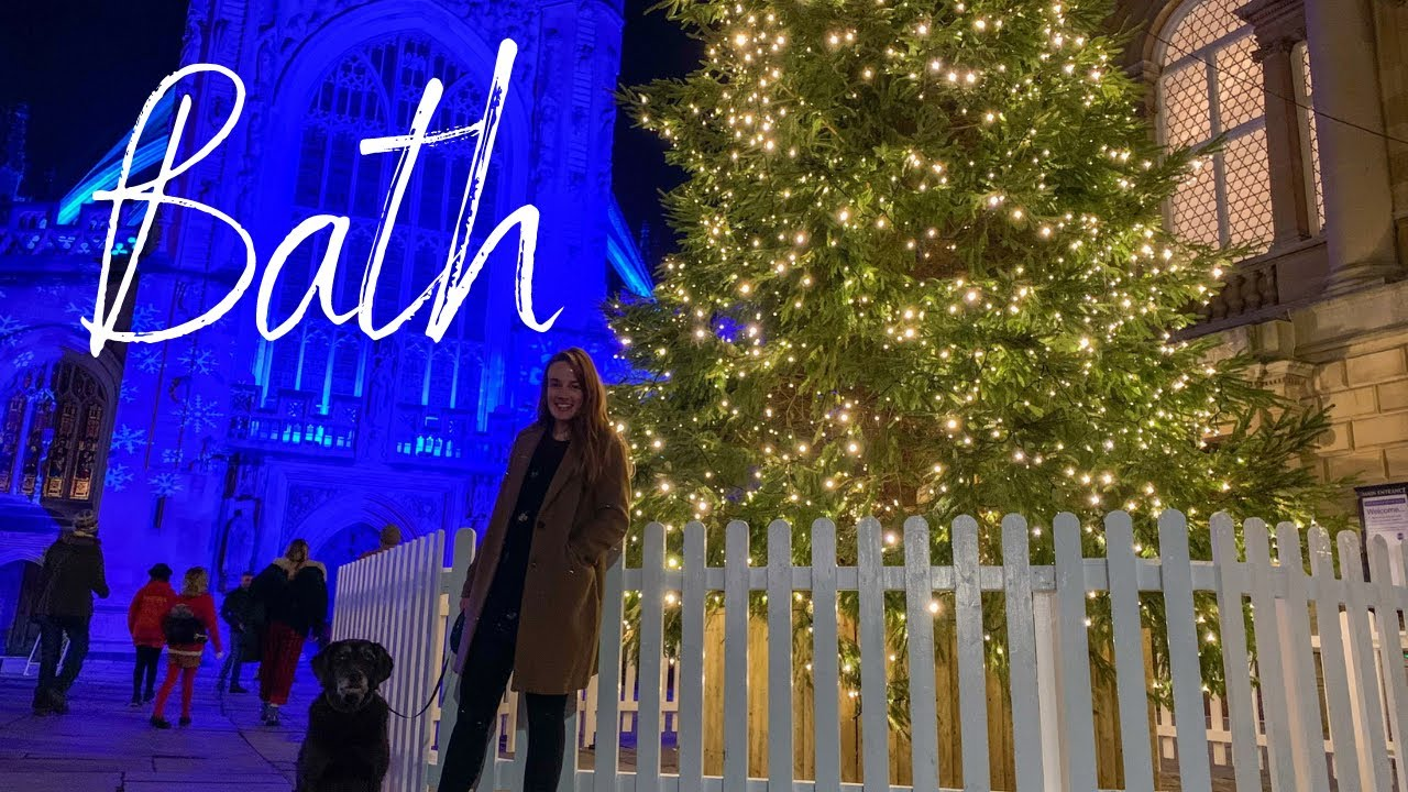 Bath film festival and Christmas light trail | Winter in England
