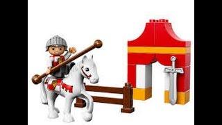 LEGO Duplo Knight Tournament 10568 - Pretend Play - Đồ chơi xếp hình Lego lắp ghép hiệp sĩ cưỡi ngựa