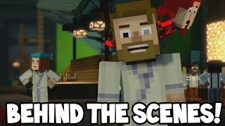 Minecraft Story Mode: Season 2 - BEHIND THE SCENES! (Craft Your Adventure)