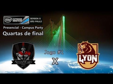 IEM São Paulo 2014 Campus Party - Seven Wars x LyoN - Quartas jogo #1