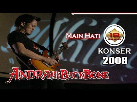 "LIVE !! ANDRA AND THE BACKBONE - MAIN HATI"" PADANG 2008 (Live Konser)"