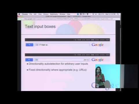 GTAC 2011: BidiChecker: Automated Bidi Testing of Web Applications