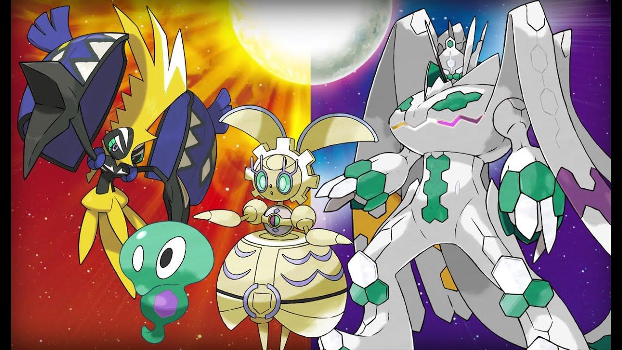Pokemon Sun And Moon Shiny Legendary Speculation Shiny