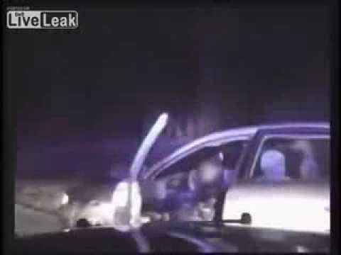 Police Chase Ends With Shootout - Solon, OH [DashCam]