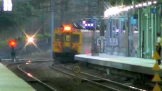 [HD] The Taiwan TRA up Tzu-Chiang Limited Express DMU DR3000 Train No. 436 at Qidu Station