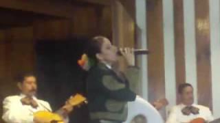 nataly del rio cantando para que me haces llorar