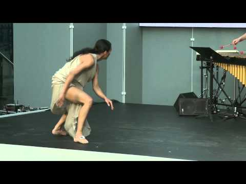 Traces, création pluridisciplinaire - danse, musique et vidéo