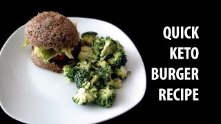 Quick and Easy Flax Seed Burger Bun  Keto Friendly Recipe