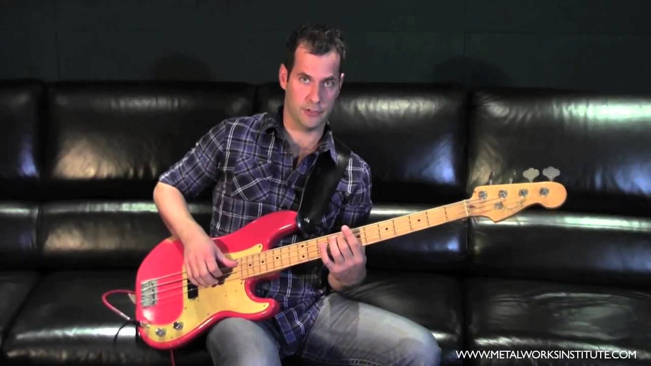 how to play slap bass on a single string bass tutorial youtube. Black Bedroom Furniture Sets. Home Design Ideas