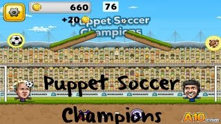 Puppet Soccer Champions gameplay walkthrough