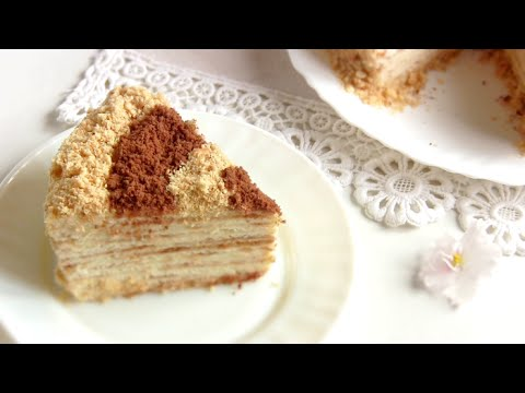 рецепт торт сметанник на сковороде