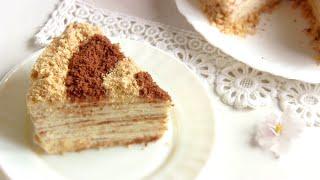 Торт СМЕТАННИК на сковороде.Простой рецепт VIKKAvideo(Сметанник- очень простой легкий рецепт торта без яиц . Сметанный торт на сковороде - быстро вкусно недорог..., 2016-03-15T16:24:16.000Z)