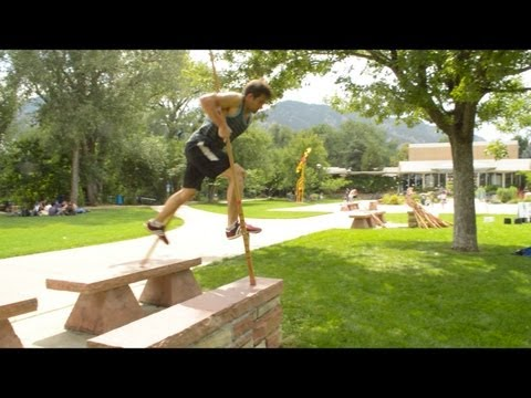 Dylan Baker Stilt Tricking Showreel 2013 (Teaser)