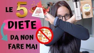 5 DIETE CHE NON DOVETE FARE | Valerie Fitness
