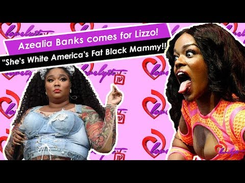 """Nicki Minaj Retires from hiphop+Azealia Banks comes for Lizzo~""""She's Whyte America's F@t Black Mammy"""