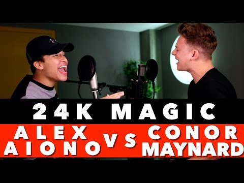 Bruno Mars  24K Magic SING OFF vs Alex Aio